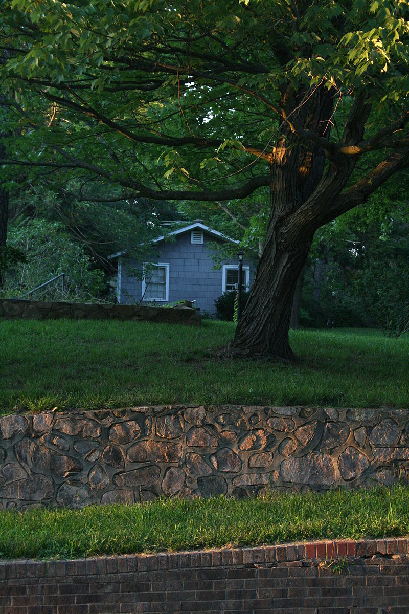 2008-07-17_House_in_Chapel_Hill_at_dusk