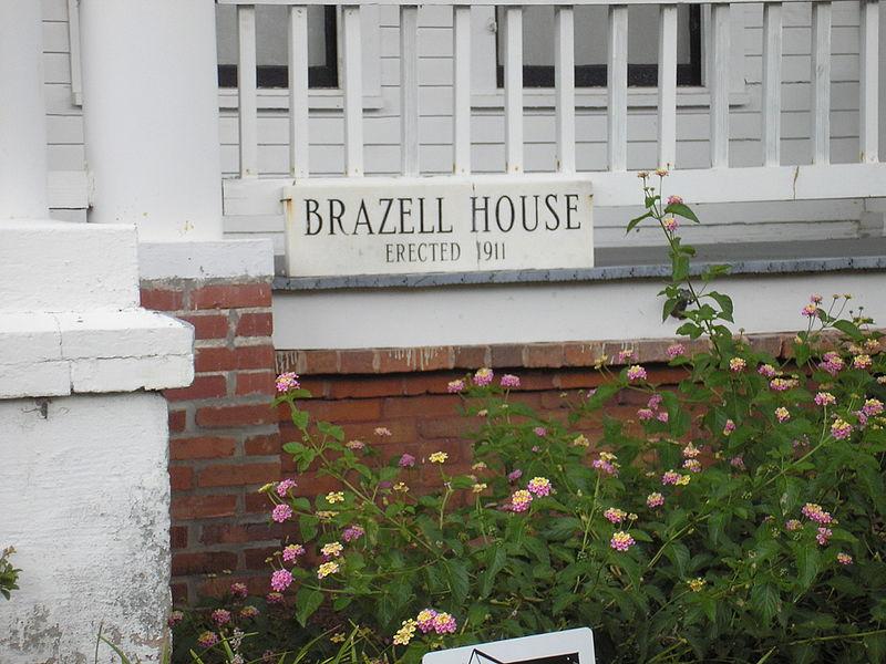 Crawford_W._Brazell_House_Signage