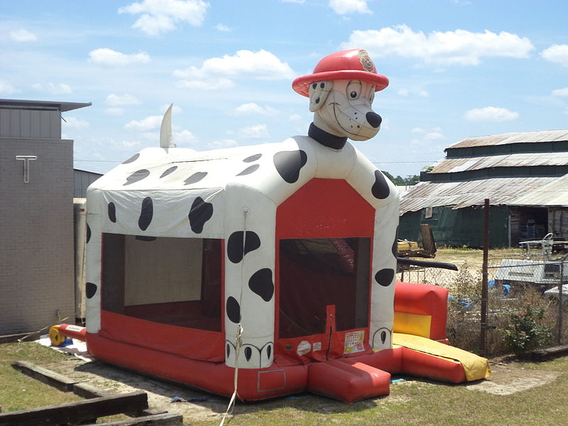 Dalmation_Dog_bounce_house_in_Cairo,_Georgia