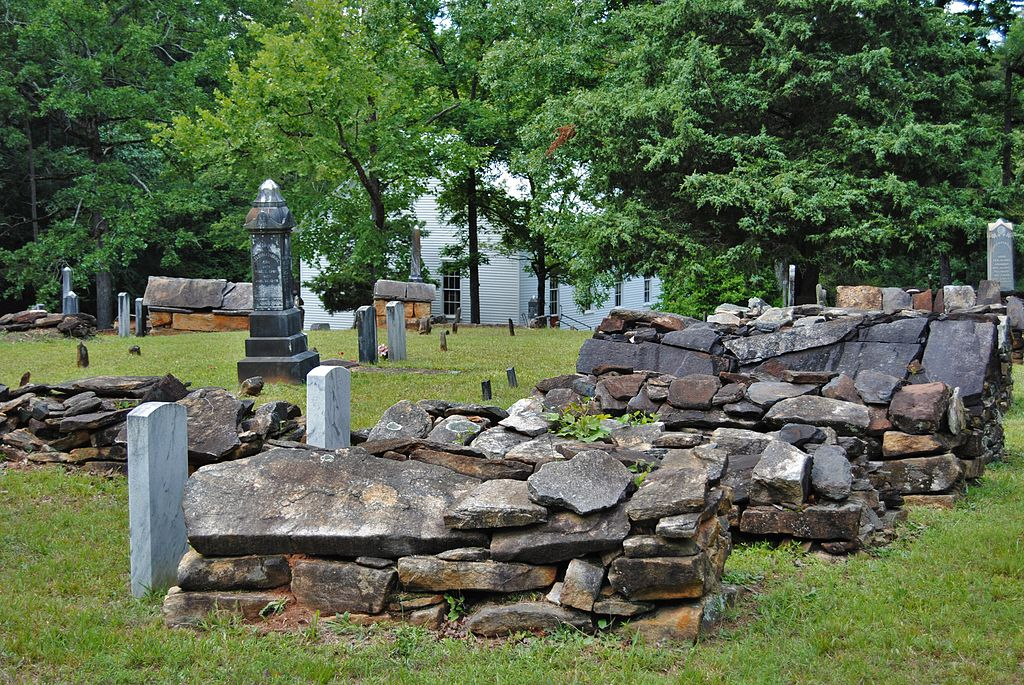 Hebron_Presbyterian_Church_Cemetery,_photographer_facing_NW_(2)