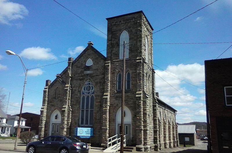 First_Moravian_Church,_Uhrichsville,_Ohio