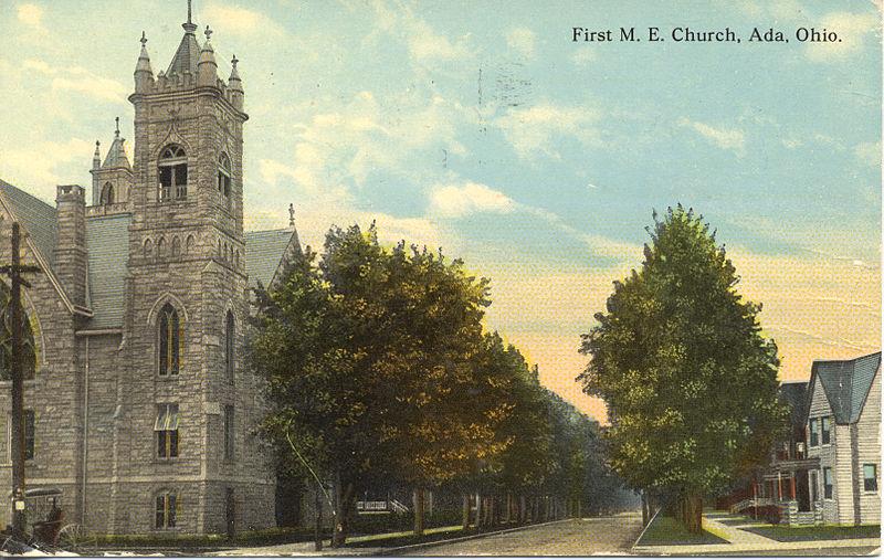 First_M.E._Church,_Ada,_Ohio_(12659656693)