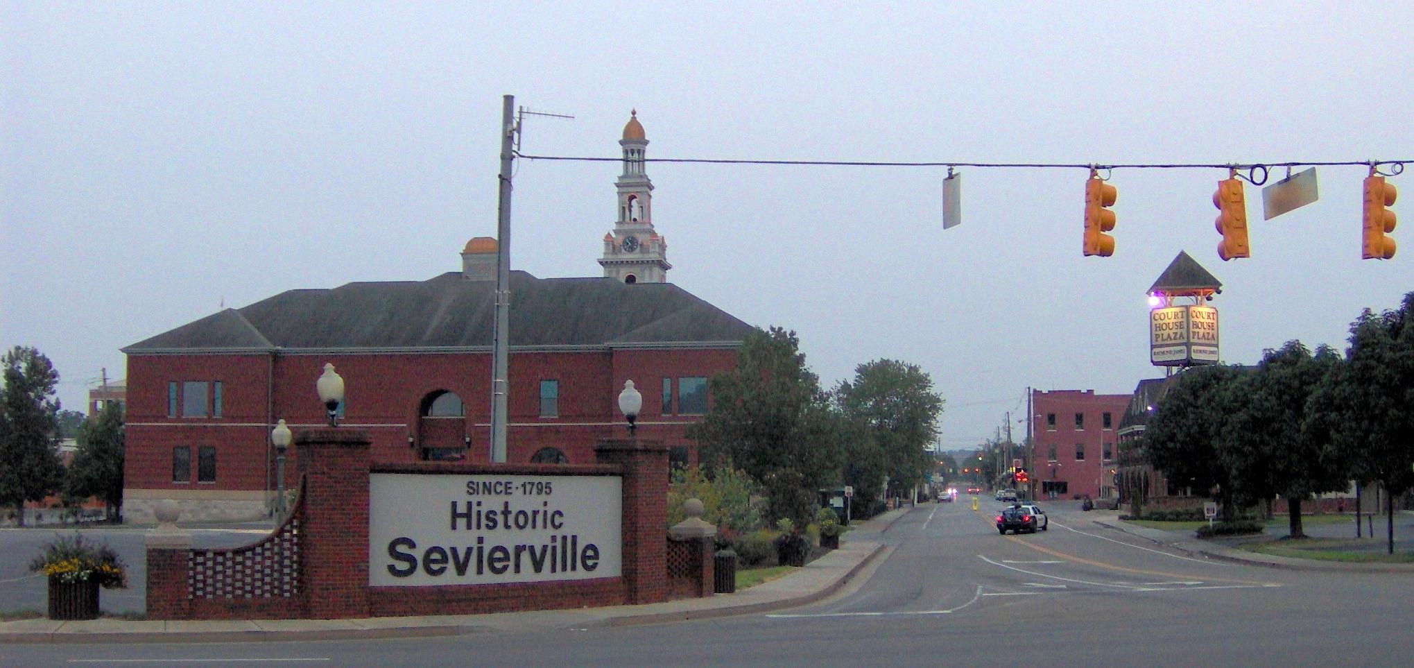 Sevierville-historic-district-entrance