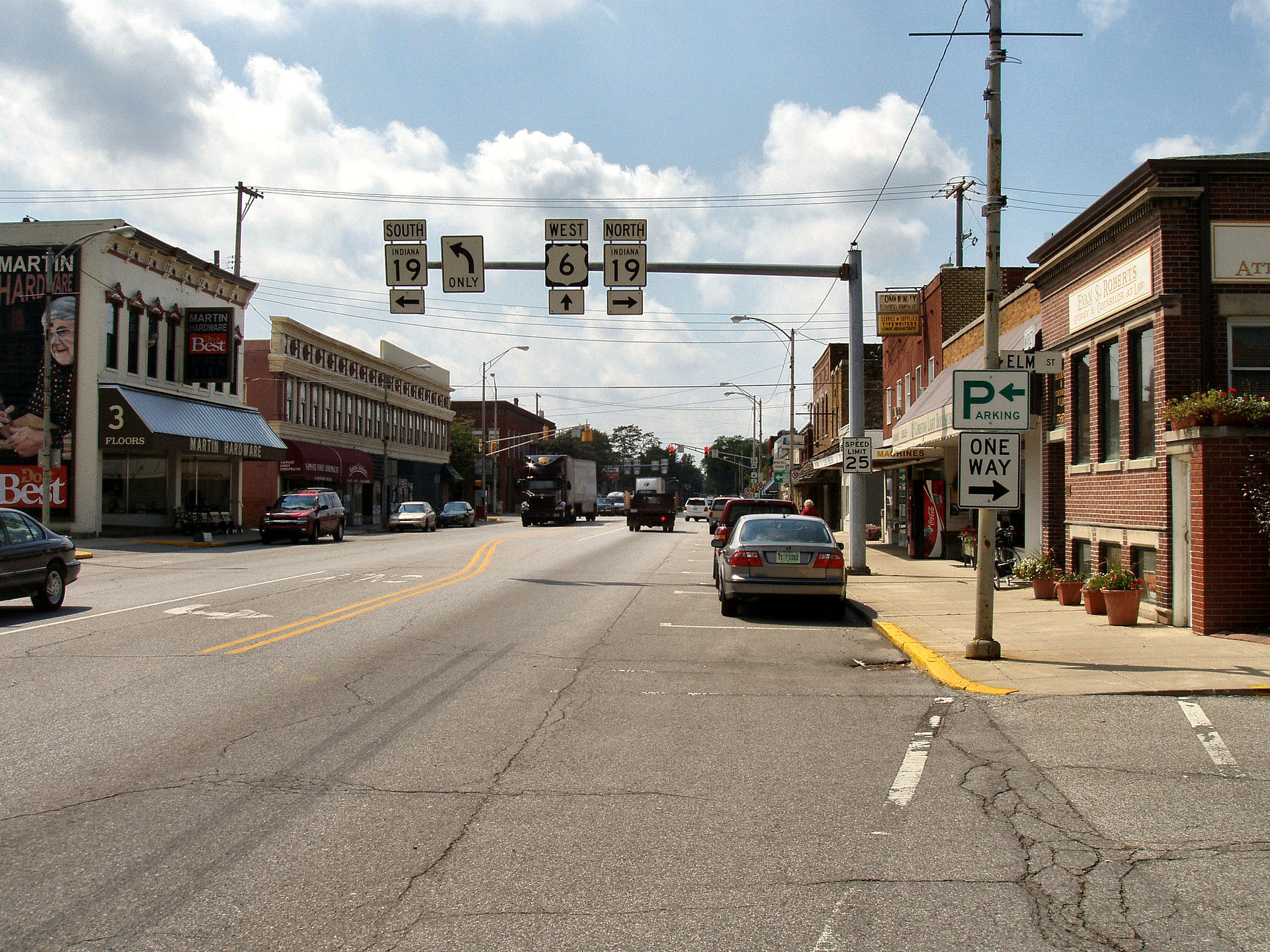 Nappanee-indiana-downtown