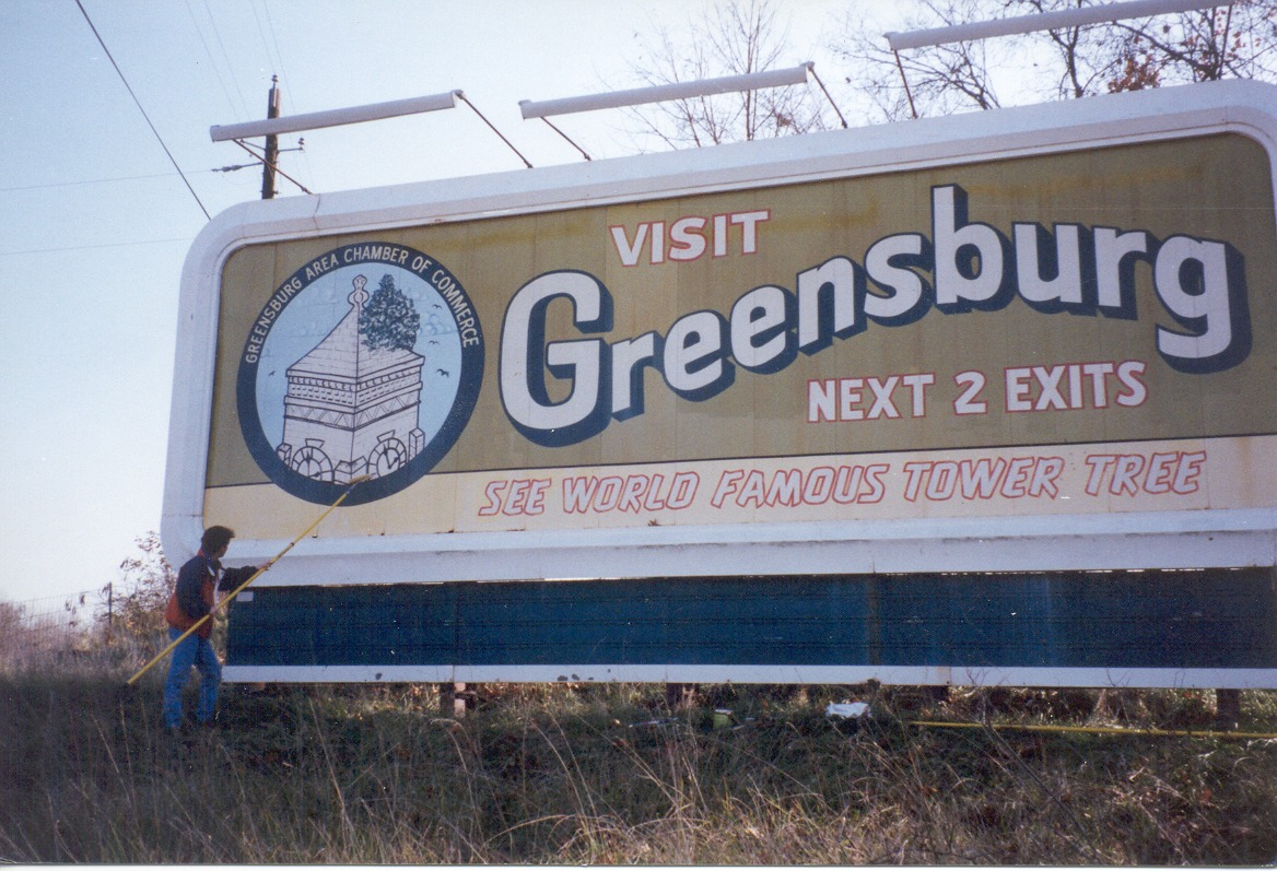 Greensburg_Indiana_Welcome_Sign_by_Bill_Green