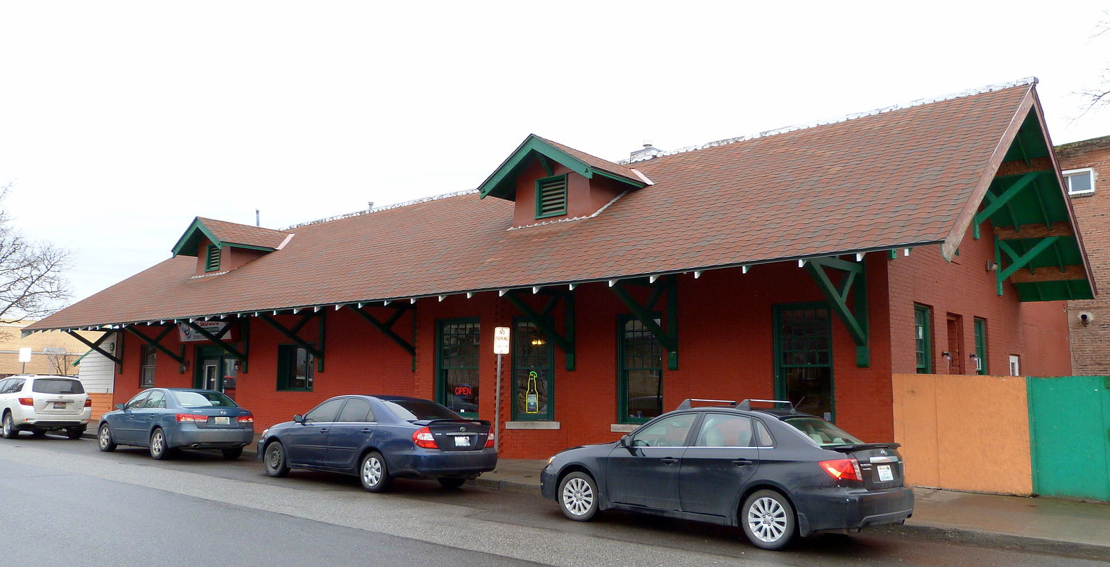Cheney_Interurban_Depot_-_Cheney_Washington